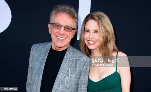 """Singer Frankie Valli and Jackie Jacobs attend Twentieth Century Foxs """"Ad Astra"""" Special Screening at the Arclight Hollywood theatre on September 18..."""