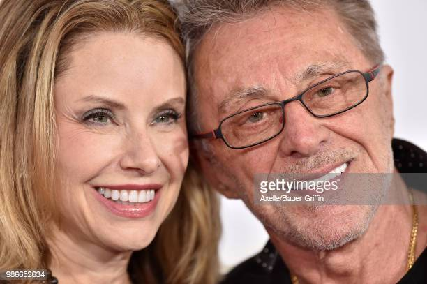 Singer Frankie Valli and Jacqueline Jacobs attend the premiere of Disney and Marvel's 'AntMan and the Wasp' at El Capitan Theatre on June 25 2018 in...