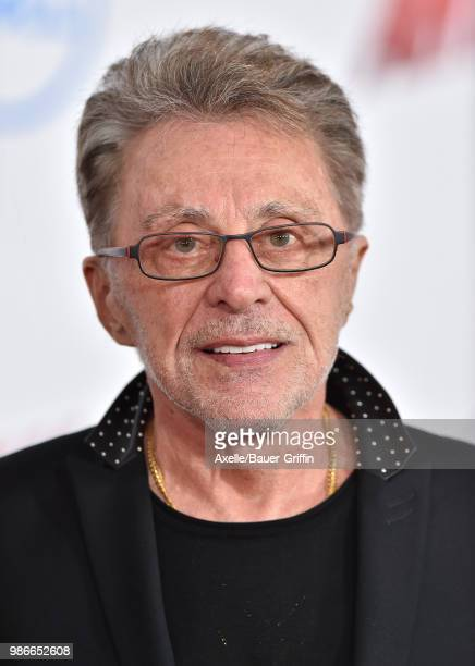 Singer Frankie Valli attends the premiere of Disney and Marvel's 'AntMan and the Wasp' at El Capitan Theatre on June 25 2018 in Hollywood California
