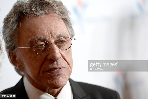 Singer Frankie Valli attends the Venice Family Clinic Silver Circle Gala 2016 honoring Brett Ratner and Bill Flumenbaum at The Beverly Hilton Hotel...