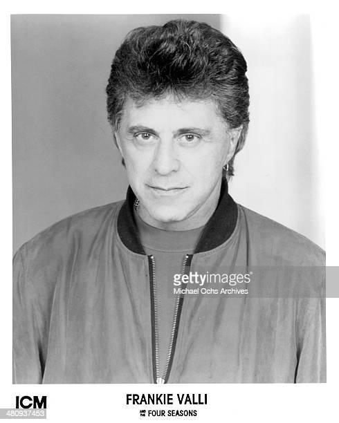 Singer Frankie Valli circa 1990