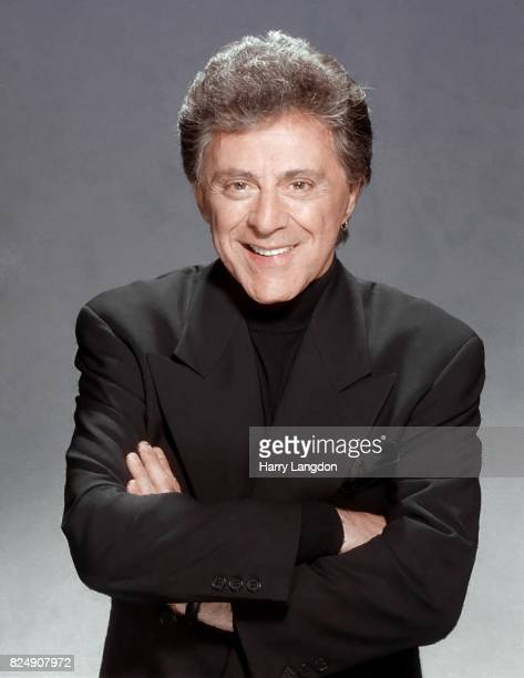 Singer Frankie Valli poses for a portrait in 1997 in Los Angeles California