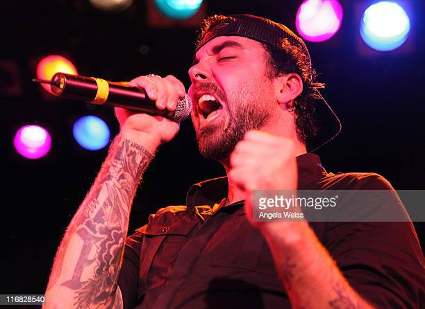 Singer Franky Perez performs at the 'Ducati All Stars' concert at The Roxy on January 2 2010 in Los Angeles California