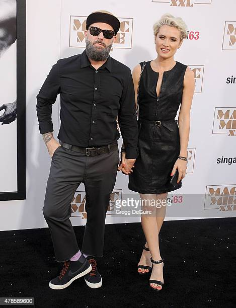 Singer Fred Durst and Kseniya Beryazina arrive at the Los Angeles World Premiere of Warner Bros Pictures' Magic Mike XXL at TCL Chinese Theatre IMAX...