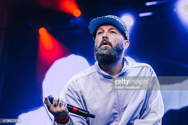 Singer Fred Durst of Limp Bizkit performs live on stage during a concert at Zitadelle Spandau on June 2, 2015 in Berlin, Germany.