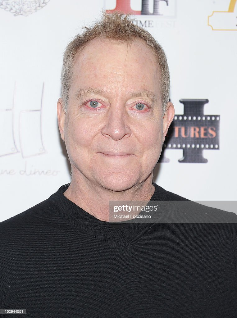 Singer Fred Schneider attends the opening night party for the 2013 First Time Fest at The Players Club on March 1, 2013 in New York City.