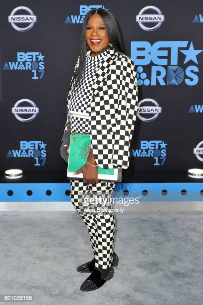 Singer Freda Payne arrives at the 2017 BET Awards at Microsoft Theater on June 25 2017 in Los Angeles California