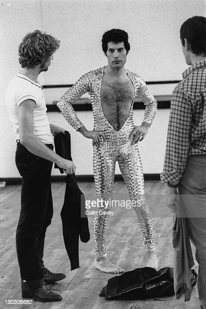 Singer Freddie Mercury of British rock band Queen attends a ballet class in Covent Garden London 3rd October 1979