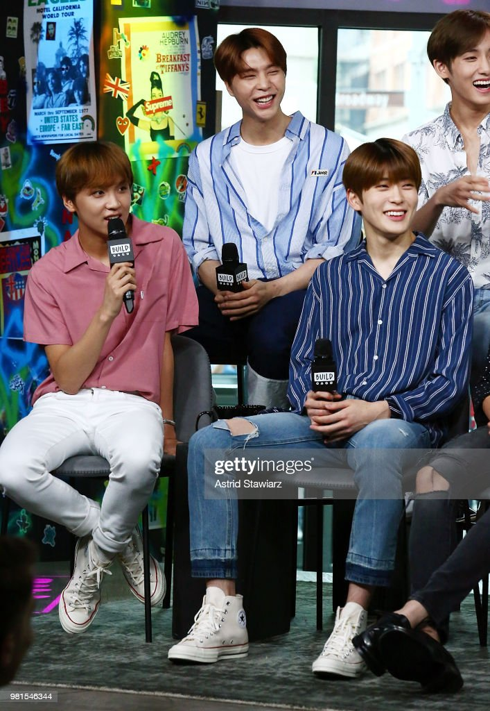 Singer from South Korean boy band NCT 127, Taeil, Johnny and