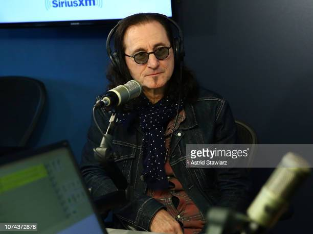 Singer from the band Rush Geddy Lee visits the SiriusXM Studios on December 18 2018 in New York City