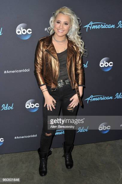 Singer Gabby Barrett arrives at ABC's 'American Idol' show on April 23 2018 in Los Angeles California