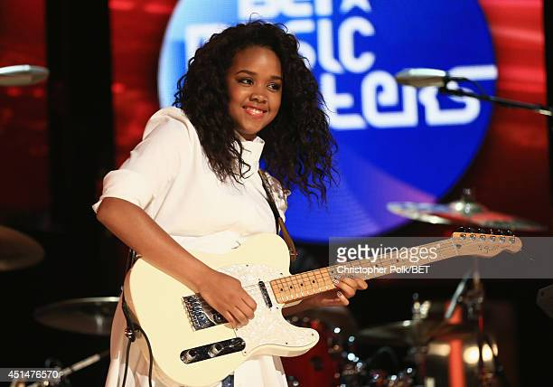 Singer Gabi Wilson performs onstage during the BET AWARDS '14 at Nokia Theatre L.A. LIVE on June 29, 2014 in Los Angeles, California.
