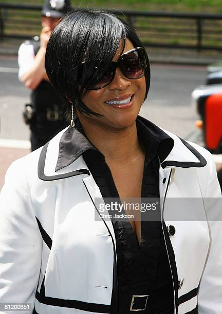 Singer Gabrielle arrives at the 53rd Ivor Novello Awards At the Dorchester Hotel on May 22 2008 in London England