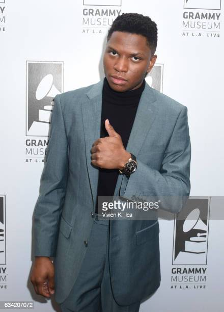 Singer Gallant attends Spotlight Gallant at The GRAMMY Museum on February 7 2017 in Los Angeles California