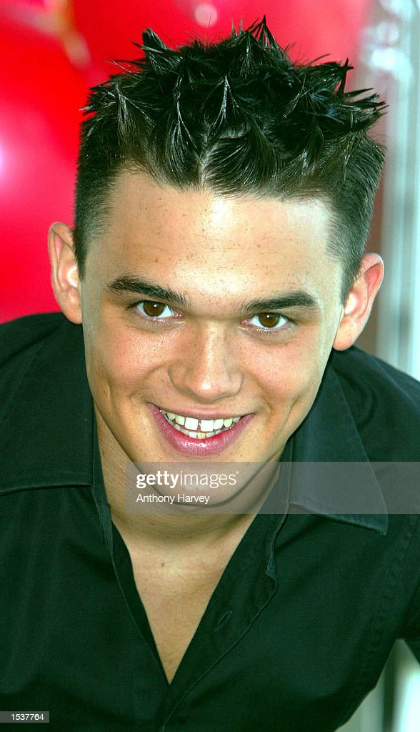 "Gareth Gates at ""Children in Need"" : News Photo"