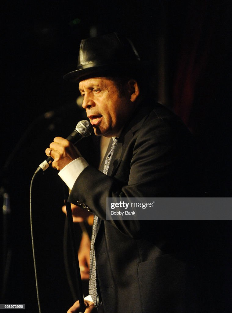 Singer Garland Jeffreys performs at City Winery on April 15, 2017 in New York City.