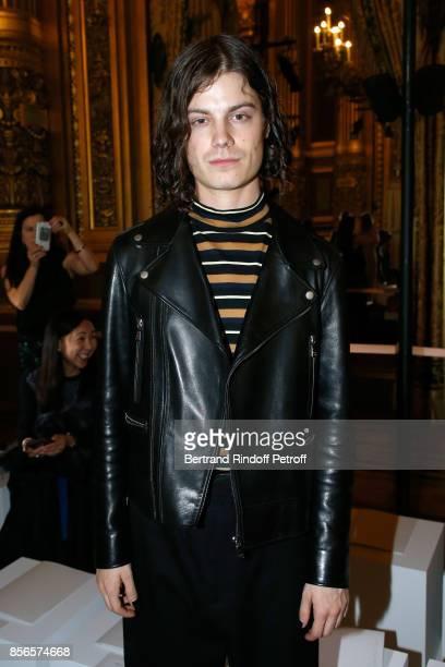 Singer Garrett Borns attends the Stella McCartney show as part of the Paris Fashion Week Womenswear Spring/Summer 2018 on October 2 2017 in Paris...