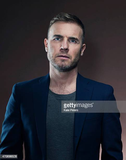 Singer Gary Barlow is photographed for the Telegraph on February 22 2012 in London England
