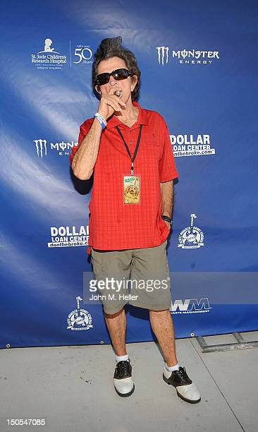 Singer Gary Mule Deer attends the Scott MedlockRobby Krieger Invitational Golf Classic to benefit St Judes Children's Hospital at Moorpark Country...