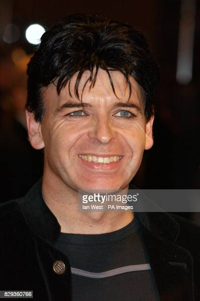 Singer Gary Numan arrives for the UK Music Hall Of Fame live final at the Hackney Empire in east London The Channel 4 series looking at popular music...