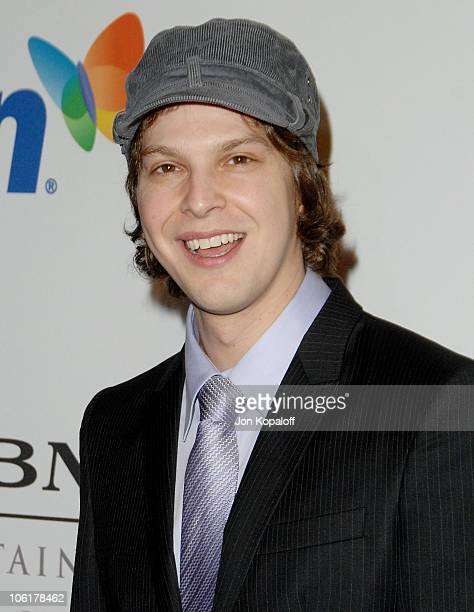 Singer Gavin DeGraw arrives to the Clive Davis PreGrammy Party at the Beverly Hilton Hotel on February 9 2008 in Beverly Hills California