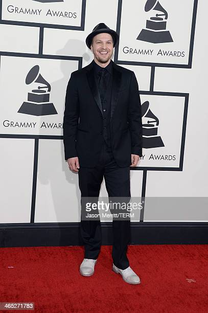 Singer Gavin DeGraw attends the 56th GRAMMY Awards at Staples Center on January 26 2014 in Los Angeles California