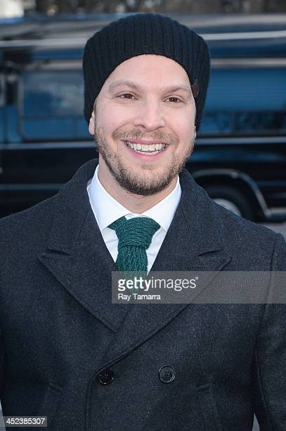 Singer Gavin DeGraw attends the 87th Annual Macy's Thanksgiving Day Parade on November 28 2013 in New York City