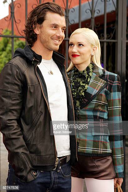 Singer Gavin Rossdale and wife Gwen Stefani arrive at the 7th Annual Young Hollywood Awards at the Music Box/Henry Fonda Theater on May 1 2005 in Los...