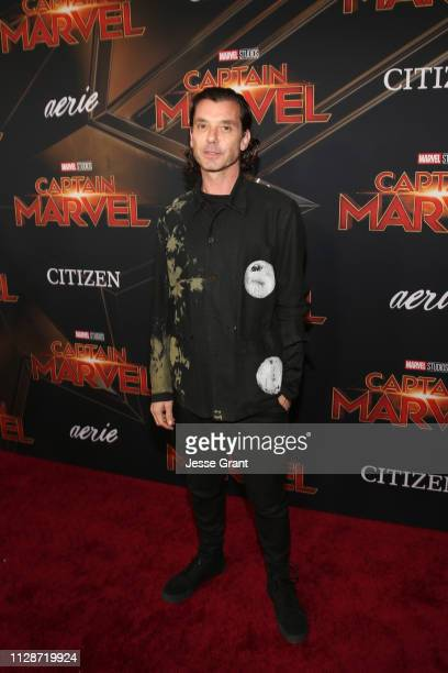 Singer Gavin Rossdale attends the Los Angeles World Premiere of Marvel Studios' Captain Marvel at Dolby Theatre on March 4 2019 in Hollywood...