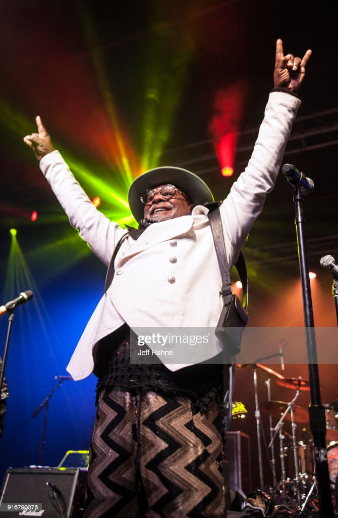 Singer George Clinton of George Clinton & Parliament/Funkadelic performs at The Fillmore Charlotte on February 10, 2018 in Charlotte, North Carolina.