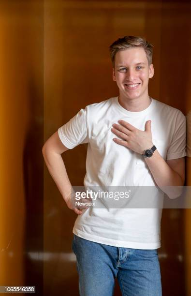 SYDNEY NSW Singer George Ezra poses during a photo shoot in Sydney New South Wales