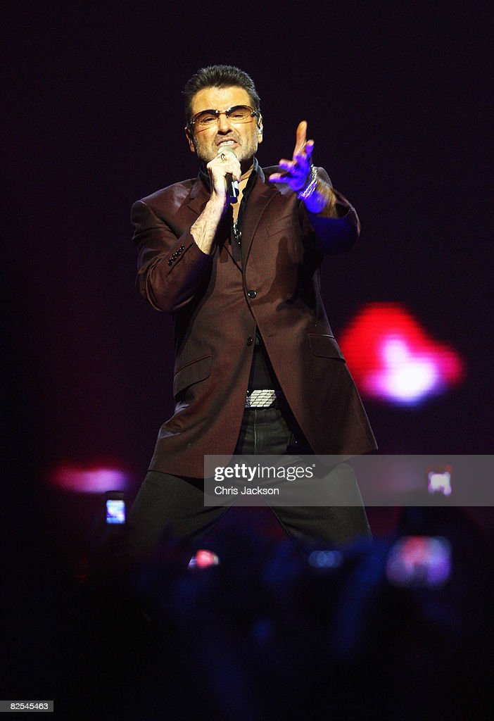 George Michael Performs At Earls Court
