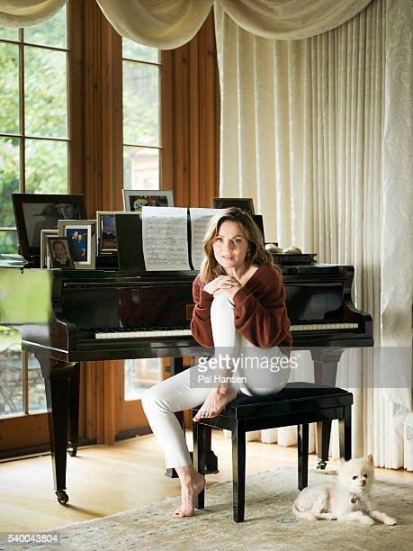Singer Geri Halliwell is photographed for Psychologies magazine on July 24, 2015 in London, England.