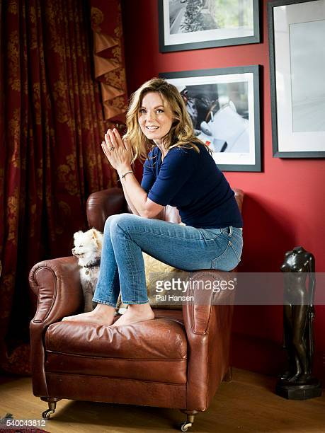 Singer Geri Halliwell is photographed for Psychologies magazine on July 24 2015 in London England