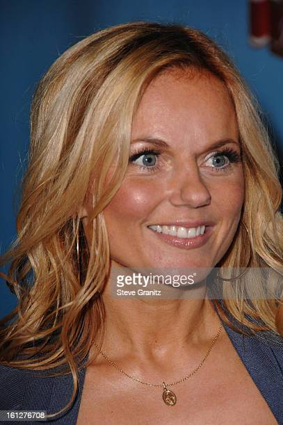 Singer Geri Halliwell of Spice Girls arrives at the taping of Idol Gives Back held at the Kodak Theatre on April 6 2008 in Hollywood California