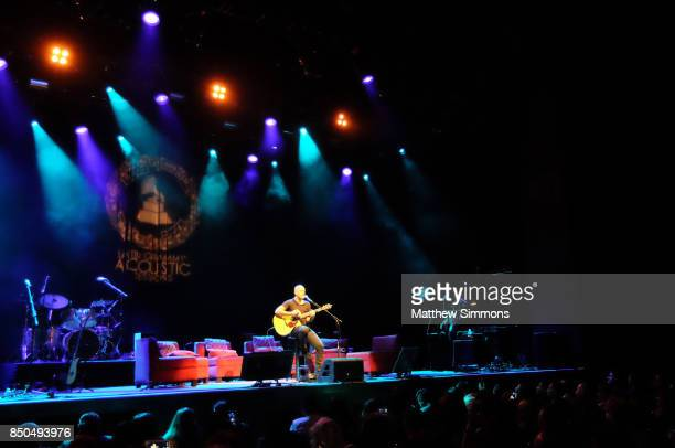Singer Gian Marco performs onstage at the Latin GRAMMY Acoustic Session with Camila and Melendi at The Novo by Microsoft on September 20 2017 in Los...