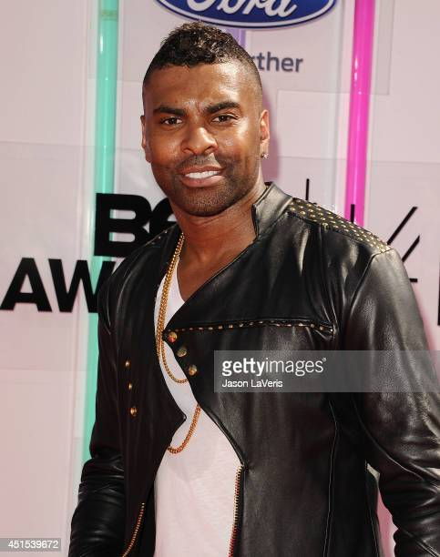 Singer Ginuwine attends the 2014 BET Awards at Nokia Plaza LA LIVE on June 29 2014 in Los Angeles California