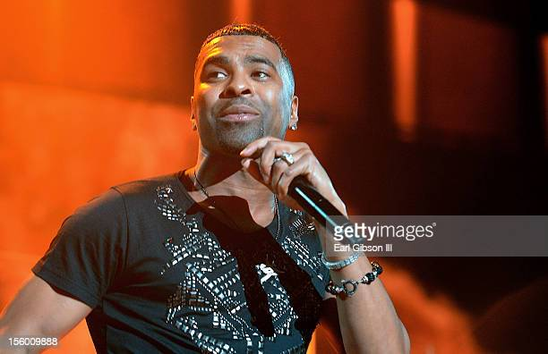 Singer Ginuwine of TNT performs at Soul Train Awards Weekend Live in Concert at PH Live at Planet Hollywood Resort Casino on November 10 2012 in Las...