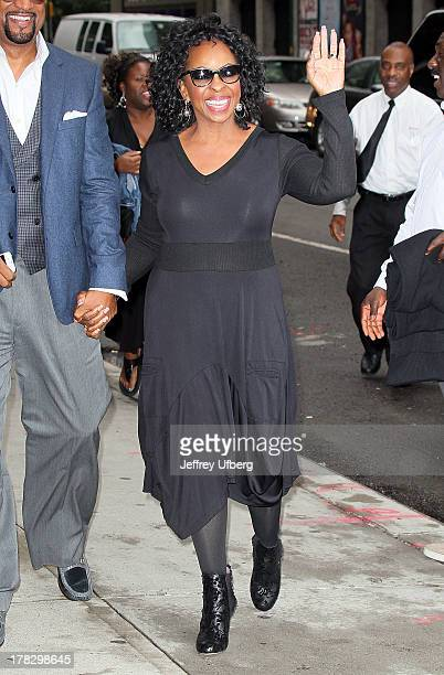 Singer Gladys Knight arrives to 'Late Show with David Letterman' at Ed Sullivan Theater on August 28 2013 in New York City