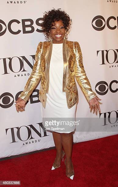 Singer Gladys Knight attends American Theatre Wing's 68th Annual Tony Awards at Radio City Music Hall on June 8 2014 in New York City