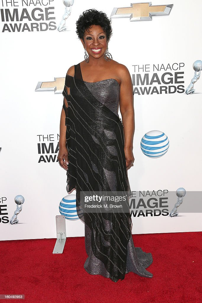 Singer Gladys Knight attends the 44th NAACP Image Awards at The Shrine Auditorium on February 1, 2013 in Los Angeles, California.