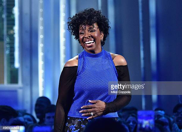 Singer Gladys Knight speaks onstage during the VH1 Big Music in 2015 You Oughta Know Concert at The Armory Foundation on November 12 2015 in New York...