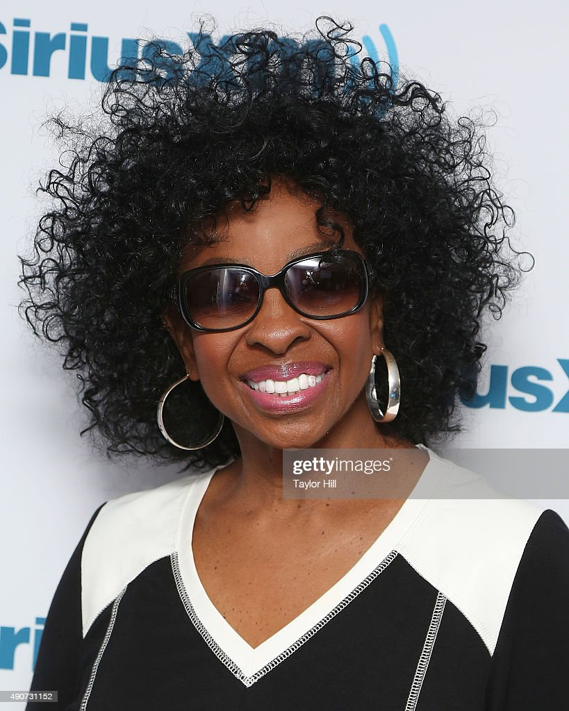 Singer Gladys Knight visits the SiriusXM Studios on September 30, 2015 in New York City.