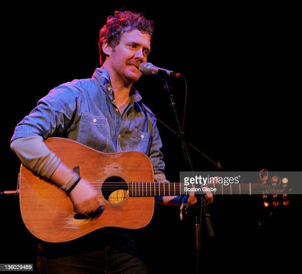 Singer Glen Hansard performs music from his project The Swell Season at the Orpheum Theater in Boston Mass on Wednesday November 21 2007 Martha...