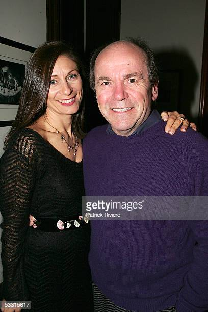 Singer Glen Shorrock attends the launch of Debbie Kruger's last book Songwriters Speak at the home of Glen and Jo Shorrock on August 2 2005 in Sydney...