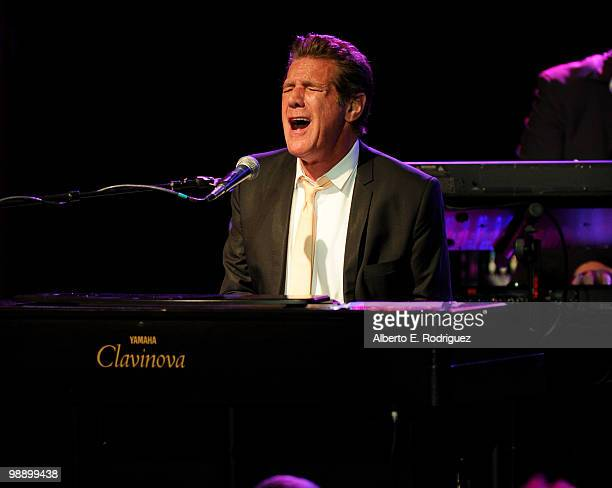 Singer Glenn Frey performs at the 10th Annual Lupus LA Orange Ball on May 6 2010 in Beverly Hills California