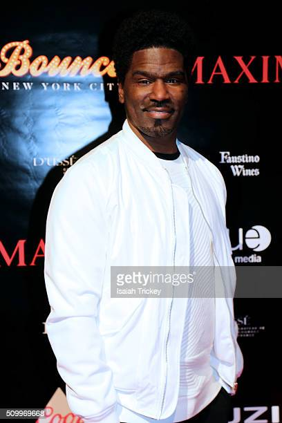 Singer Glenn Lewis attends the 2016 NBA AllStar Weekend Maxim Party at Muzik on February 12 2016 in Toronto Canada