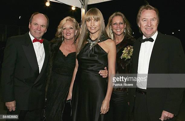 Singer Glenn Shorrock Jo Shorrock fashion designer Collette Dinnigan Gaynor Wheatley and music promotor Glenn Wheatley arrive at The Mother Of All...