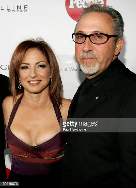 Singer Gloria Estefan and her husband Emilio Estefan attend People En Espanol's 4th Annual 50 Most Beautiful Gala at Capitale May 18 2005 in New York...