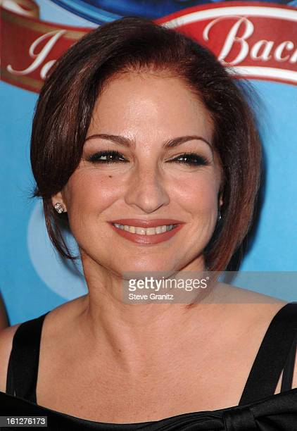 Singer Gloria Estefan arrives at the taping of Idol Gives Back held at the Kodak Theatre on April 6 2008 in Hollywood California